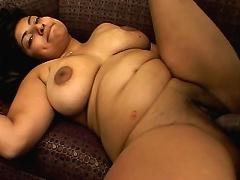 Sexy Jazmine is worried that her pregnant butt and enormous loaded belly looks bad in front of the c