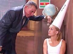 Jasmine Lynn gets humiliated by her school princip