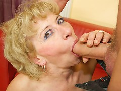 This mature slut wants a warm creampie