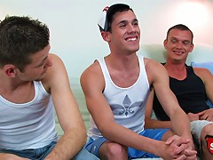 Three straight boys have gay sex for cash.