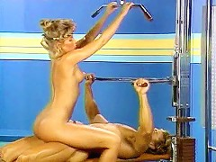 Sex in the sport club from xxx classic porn