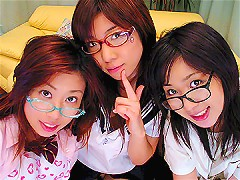 Three Horny School girls gets fucked!