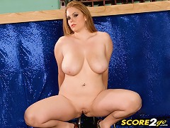 A recent discovery, Jessica Taylor is a 22 year-old redhead from California who juggles two things