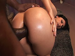 Luscious Big Booty Lopez is a smoking hot cave-whore who loves to hit the clubs... Actually she gets hit by clubs an