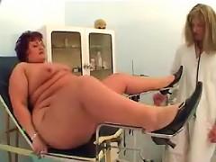 BBW gets a gynocologist visit