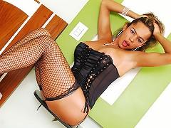 Big, busty and Brazilian tranny Alessandra is a vibrant personality on camera. She knows ho