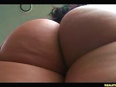Tiffani shows off her amazing curves.