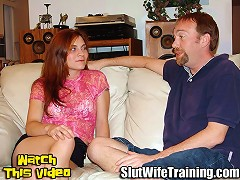 Kevin sent his wife Mary to Dirty D for an Oral Evaluation. He wants to see her lose her gag reflex and deep throat e