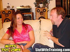 Tim sent his wife Jazz to Dirty D to improve her oral skills and put an end to her spitting his cum out. Dir