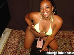 Fonda is an eighteen year old ebony teen. She is a bit nervous since she has never tried anything lik