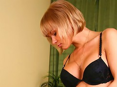 Irinas body looks seductive enough for her slave to go horny the very moment he sees her naked. Well, fra
