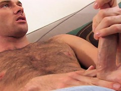 Whats better than one hot, hairy guy stroking cock? How about two? All alone in a rundown elevator shaft, Steve Cru
