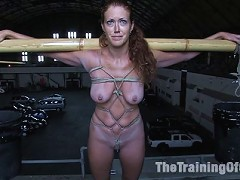 Slave Slut Sabrina Fox Trained to submit to Masters Cock