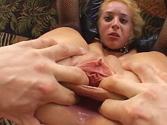 Kelly Wells is a really lucky girl. She has been trying to convince us to gangfuck her asshole for months but we didnt