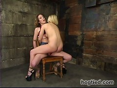 Crystal Frost and Jade Marxxx twice the orgasms, double fun.
