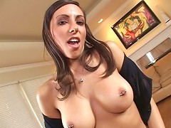 Lela Star is a bad choice for a mistress. When you see the way this girl cums, imagine trying to go home w