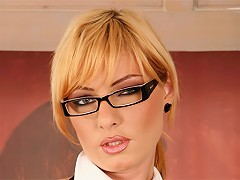 I hope you like my new secretary. I sure do! She sucks a mean dick and loves to get fucked in the ass. What a tropper.