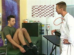 Nobody could tell there was anything going on between that patient and one of the male nurses. At least thats what they