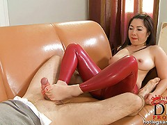 Enter a supremely kinky zone with our featured footjob set as relentless Midori Tanaka makes Frank Voit