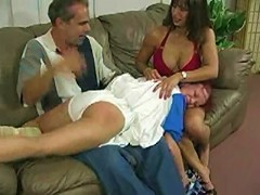 Along with a horrible nasty granddad who loves younger generation girls, and a young, dominant slut, join forces t