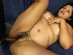 Celestes knocked up and mad horny, she began by teasing her partner with her plump tits and enormous belly. The guy took
