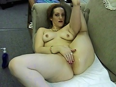 Candy is one alluring MILF bitch who needs no man to satisfy her sexual urges. Watch her get herself wet with just