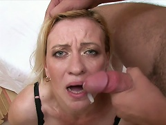 Share the most awaited moment of this nasty, mature blonde whore as she takes in the limelight and show off what she has