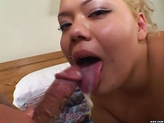 Hottie Britny enjoys fondling her juicy wet cunt and caressing her natural t
