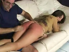 She is one big naughty girl who refuses to do what she is told - give her man the sexual pleasure he demands. She get spanked u