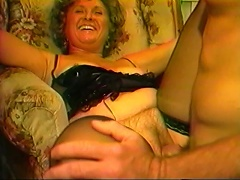 She seems so nervous at first but this hot granny Shane loves to suck and to be fucked by more than one horny guy. She loves suckin