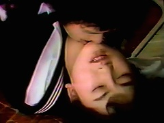 This young exotic schoolgirl has one sweet bush that her boyfriend really enjoys. See her slit get fingered by this dude, and th