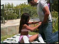 Asia is one naughty Oriental whore who loves getting filthy with Caucasian dudes. Watch her