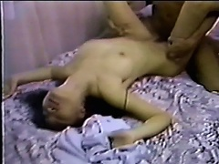 This alluring Asian chick looks like an unassuming amateur but she sucks cock and rides a dick like a pro. Watch her as while she exp