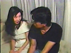 While taking a bath after a hard days work, this gorgeous Japanese chick and her horny boyfriend could not resist the overwhe