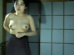 Every Japanese woman is said to please her man in any way she can and this video shows how a woman becomes a whore to please her man