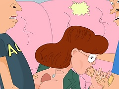 Beavis and Butt-head let Daria taste their dongs