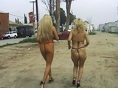 Hail to the cumming of these two sexy, voluptuous whores Gina Delvaux and Dusk Del-Mar, as they reveal their c