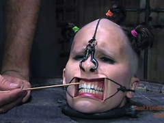 Marina is the bitch in the barrel. It leaves her head open for any kind of torment. PD gets creative and makes a