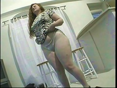 Let yourself by amused by this alluring redhead slut Marika who tips the scales at whopping weight. See her waling down the street wea