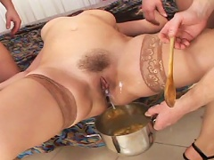 Compilation of the best Pussy & Anal Cream Pies - Part 5