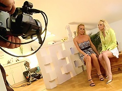 Silvia Saint and her friend Lena in a hot behind the scenes!