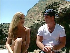 Amber Michaels was out on the beach and soaking in the warm summer sun when lust overtook her and sh