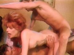 Horny Red Hair Tries 2 Big Cocks & Enjoy Getting A Faci
