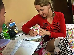 I think that you would like to be the tutor, because he can fuck almost all his beauiful naive chicks, who a