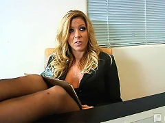 I want the job really bad! Zoe told potential employers Ethan and Sexy Lexi Lamour, the only question was h