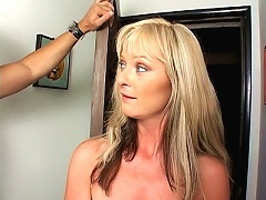 These milfs are so hot and horny, they fuck like little bunny rabbits. Take blonde milf Alison Kilgore for example, she looks so nice