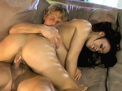 Sexy porn star Eva Angelina deserves all the fame shes getting. Unlike other porn stars, she actually enjoys fuckin