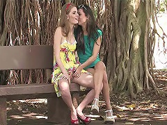 Make love in the park