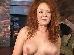 Horny Audrey Hollander has nice plump tits and ass and a lusty twat that constantly needs attention. Watch this