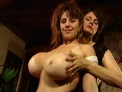 Featuring these two hot girls in their blistering hot nakedness, revealing their smooth, silky bodies, and their irres